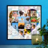 12 x 12 Heart Collage (36 photos)