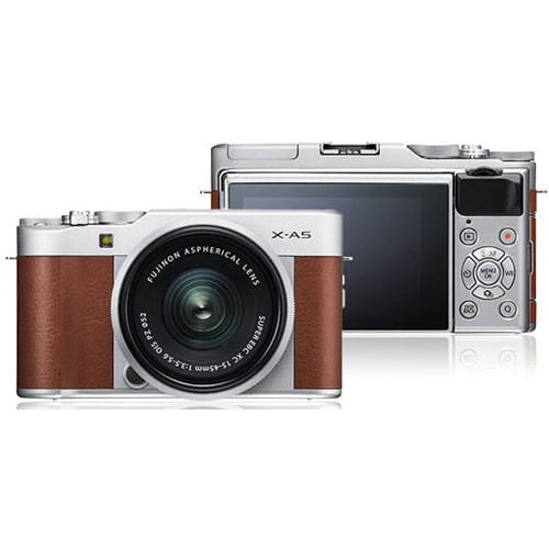 Fujifilm-X-A5 Mirrorless Camera with XC15-45mm Lens-Digital Cameras