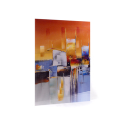 """12x18 Acrylic 1/4"""" thick  (portrait) - Floating Frame Mount"""