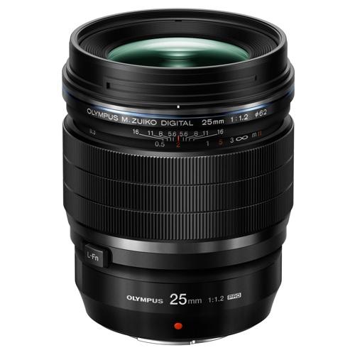 Olympus-M.Zuiko Digital ED 25mm f1.2 PRO-Lenses - SLR & Compact System