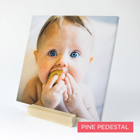 8x8 Tile Print with Pedestal