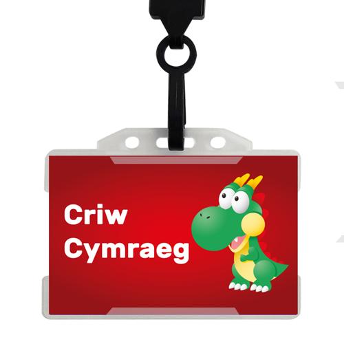 20 x Criw Cymraeg Badges