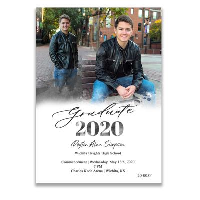 Graduation Announcement (20-005F)
