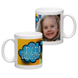 White Coffee Mug 11oz (wrap) Dad-H