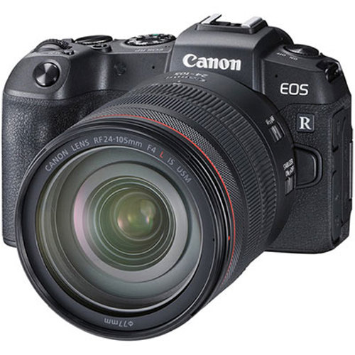 Canon-EOS RP Mirrorless Camera with RF 24-105mm F4L IS USM Lens-Digital Cameras