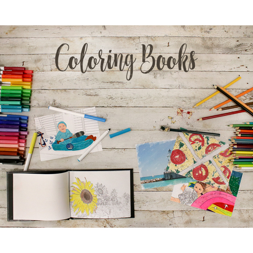 8x6 Coloring Book