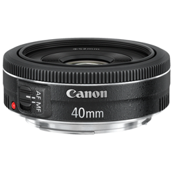 Canon-EF 40mm f2.8 STM-Lenses - SLR & Compact System