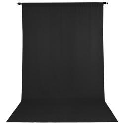 ProMaster-Wrinkle Resistant Backdrop 10'x12' - Black #2792-Backgrounds