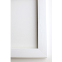 300x450mm Framed Print Vertical - 20mm White Frame