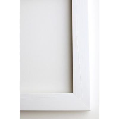 150x225mm Framed Print Vertical - 30mm White Frame
