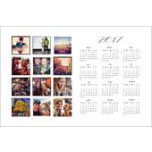2017 - 12x18 Calendar