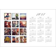 2017 - 12x18 Horizontal Calendar