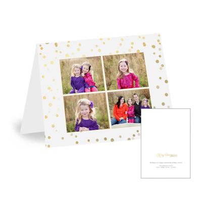 16-038 - H Folded - CARDSTOCK CARD - SET OF 25
