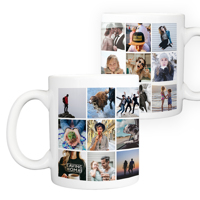 15 oz. Ceramic Mug Collage - 24 images