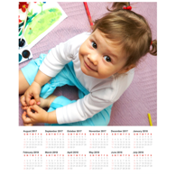 16 x 20 Poster Calendar with 1 image.